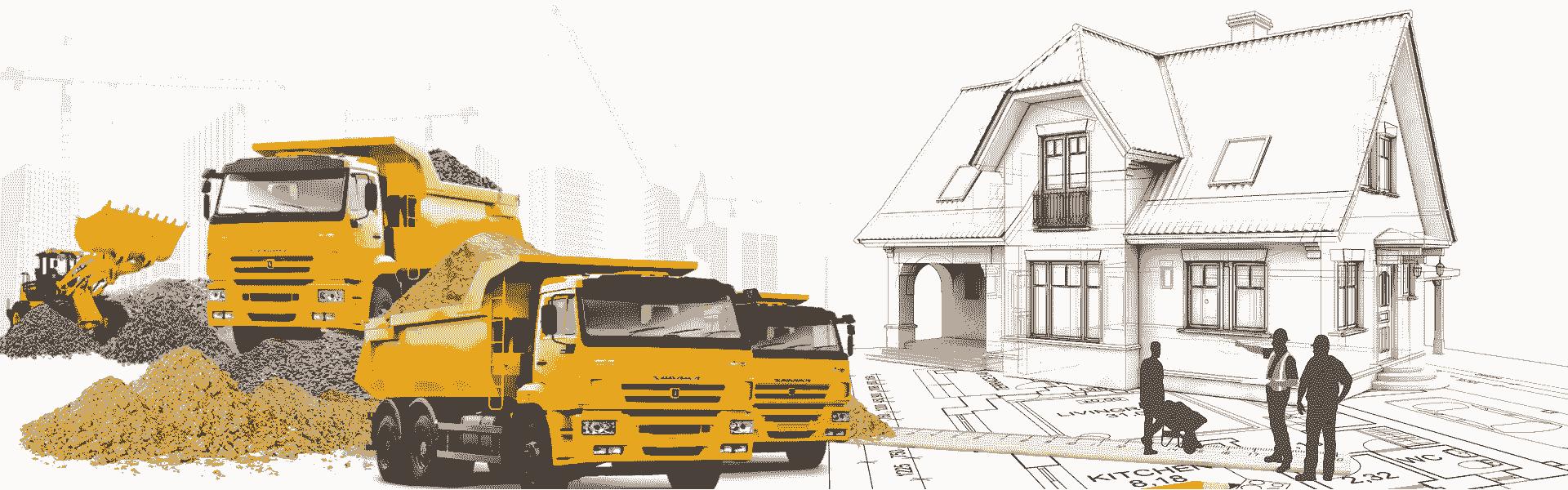 Кирпич Песок Щебень Керамзит Газосиликатные блоки с доставкой от завода производителя. Услуги и аренда спецтехники в Воронеже.