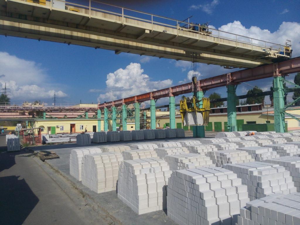 Белый силикатный кирпич завод ВКСМ Придонской