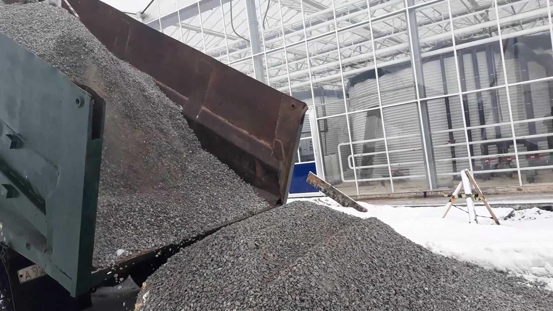 Доставка гранитного щебня в Воронеже камазом 10 тонн